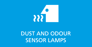 DUST AND  ODOUR SENSOR LAMPS
